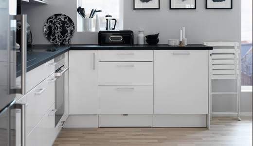 Sigdalkjøkken - front Hvit